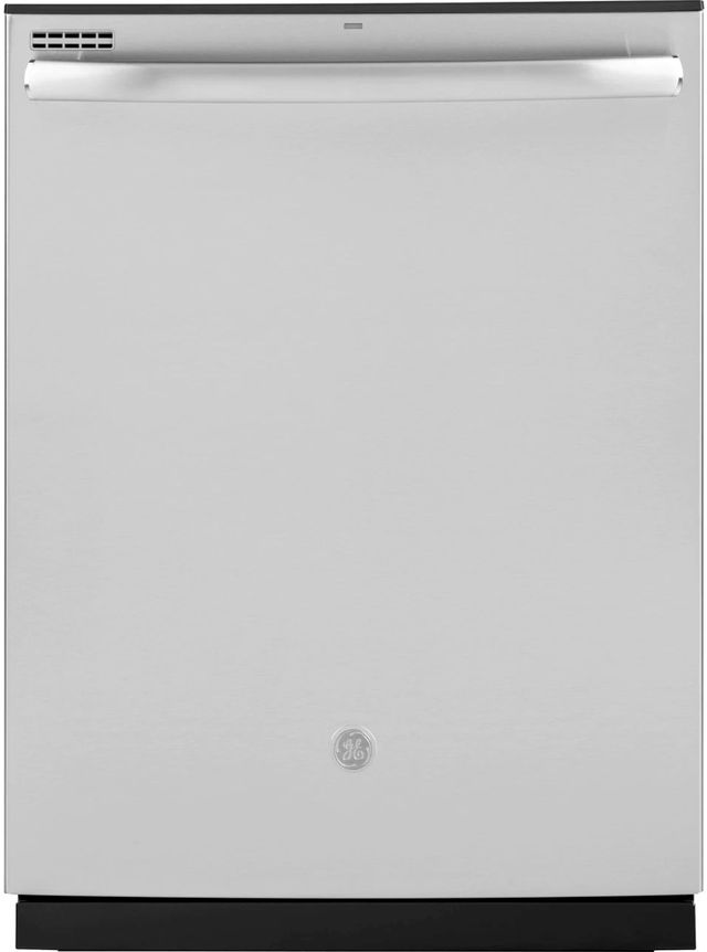 "GE® 24"" Fingerprint Resistant Stainless Steel Built In Dishwasher-GDT630PYMFS"
