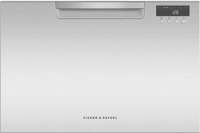 "Fisher & Paykel Series 5 24"" Stainless Steel Single DishDrawer™ Dishwasher-DD24SAX9 N"