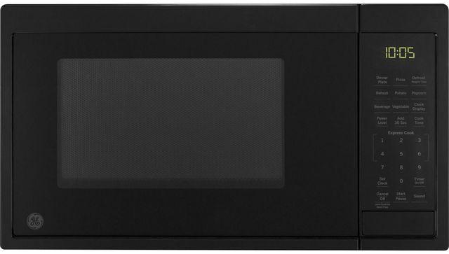 GE® Countertop Microwave-Black-JES1095DMBB