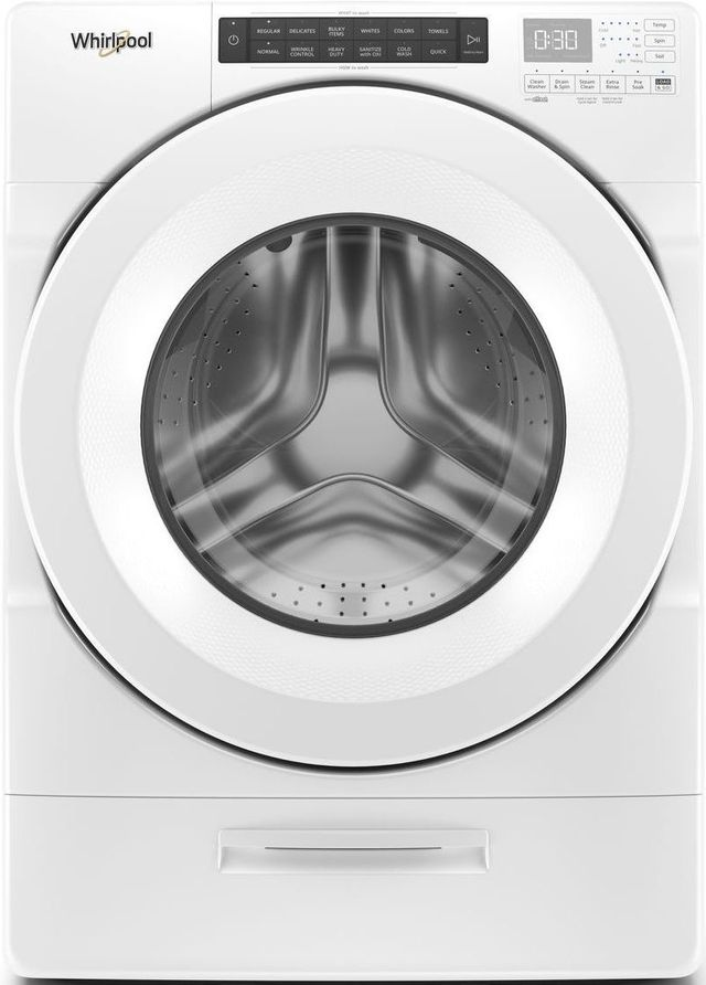 Whirlpool® 4.5 Cu. Ft. White Front Load Washer-WFW5620HW