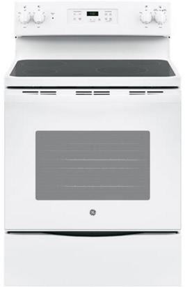 "GE® 30"" Free Standing Electric Range-White-JBS60DKWW"