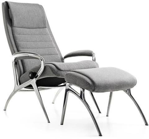 Stressless® by Ekornes® YOU John Chair and Ottoman-1505315