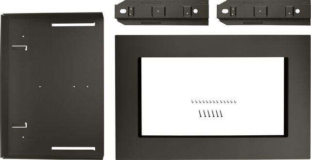 "KitchenAid® 30"" Black Stainless Countertop Microwave Trim Kit-MKC2150AV"
