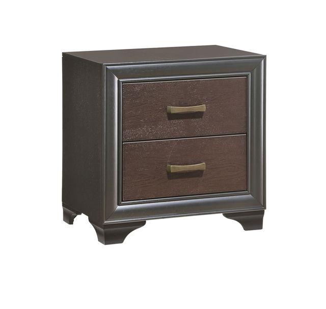 Emerald Home® Prelude 2 Drawer Nighstand-B588-04