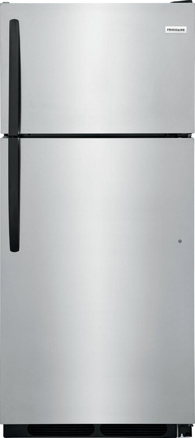 Frigidaire® 16.3 Cu. Ft. Stainless Steel Top Freezer Refrigerator-FFHT1621TS
