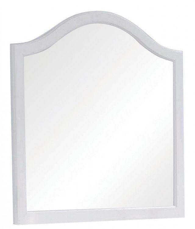 Coaster® Dominique White Dresser Mirror-400564