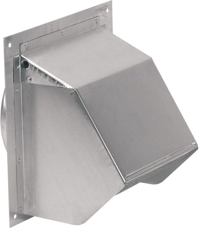 Broan® Natural Aluminum Wall Cap-641