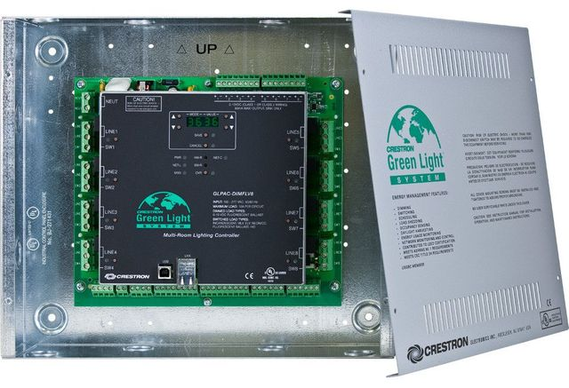 Crestron® Green Light Integrated Lighting System-GLPAC-DIMFLV8