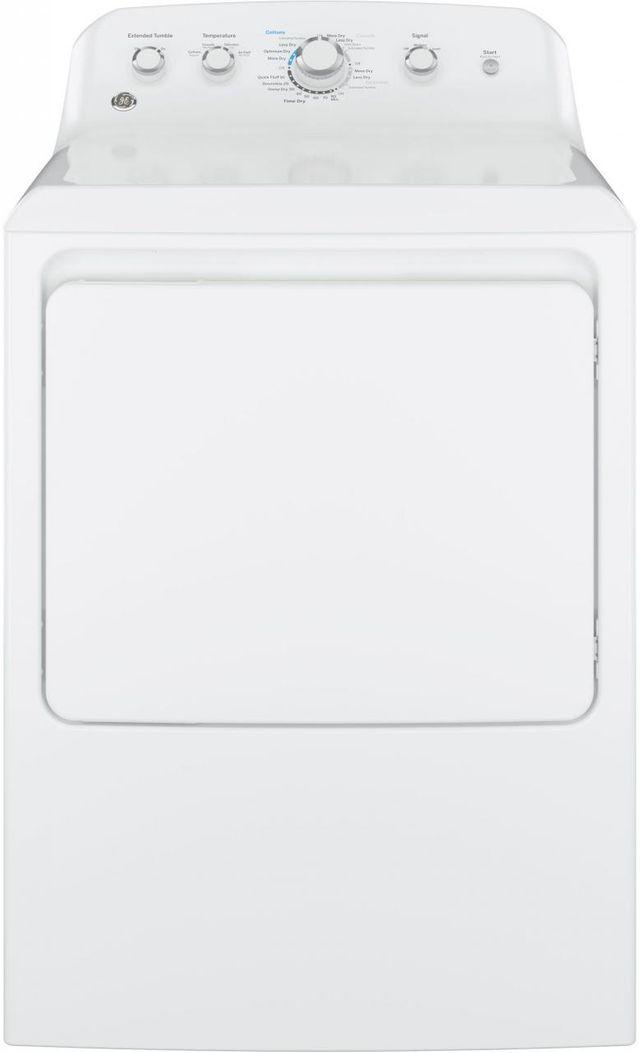 GE® Gas Dryer-White-GTX42GASJWW