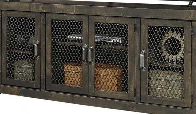 """Aspenhome® Industrial Lighthouse Grey 97"""" Console-WMN1270-LGH"""
