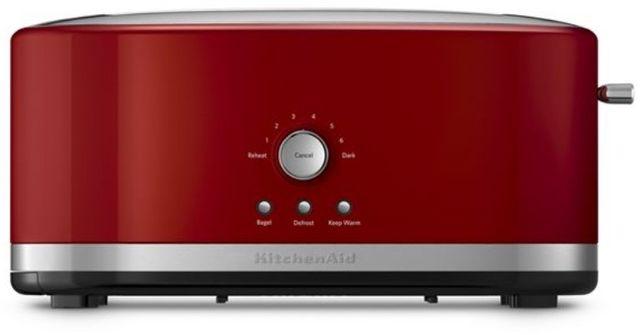 KitchenAid® 4 Slice Empire Red Toaster-KMT4116ER