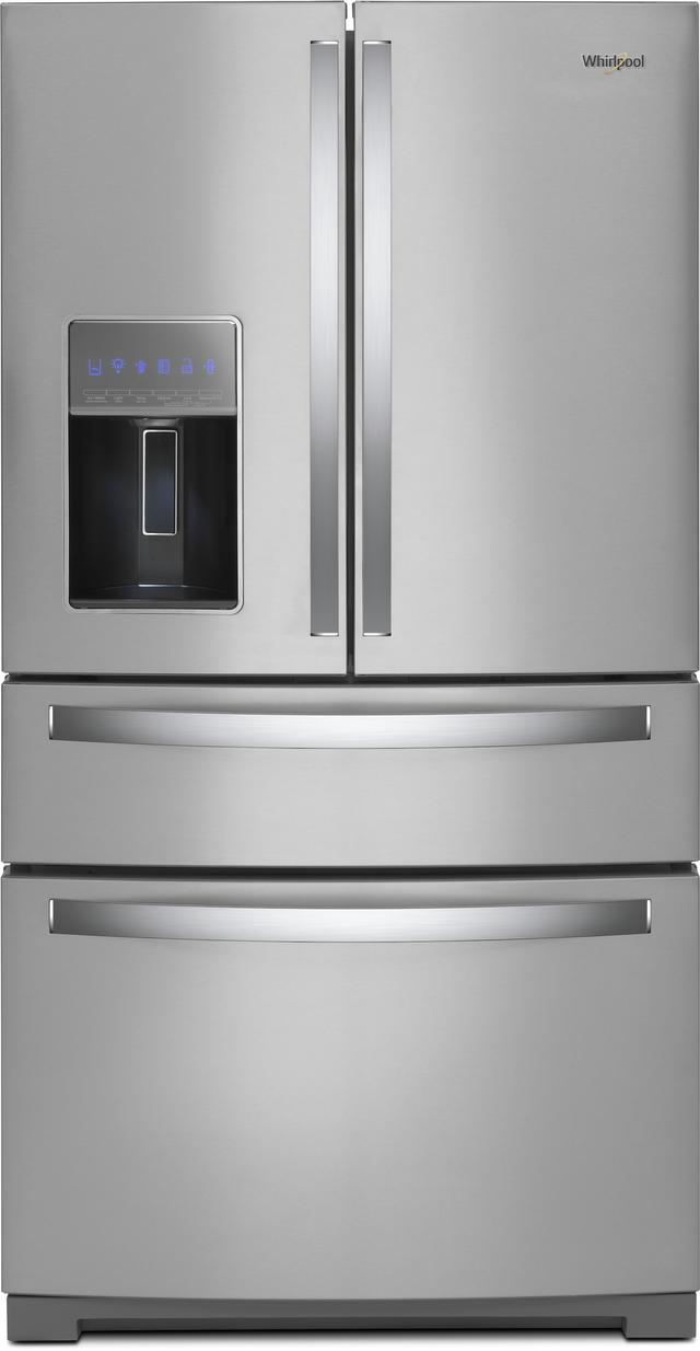 Whirlpool® 26.2 French Door Refrigerator-Fingerprint Resistant Stainless Steel-WRX986SIHZ