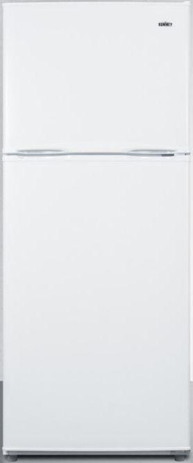 Summit® 9.9 Cu. Ft. Top Freezer Refrigerator-White-FF1071W