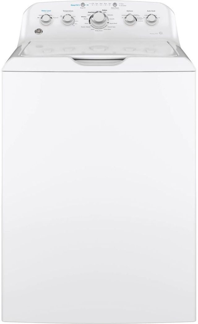 GE® 4.5 Cu. Ft. White Top Load Washer-GTW465ASNWW