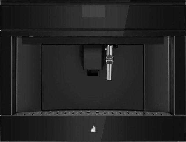 "JennAir® NOIR™ 23.44"" Floating Glass Black Built In Coffee System-JJB6424HM"
