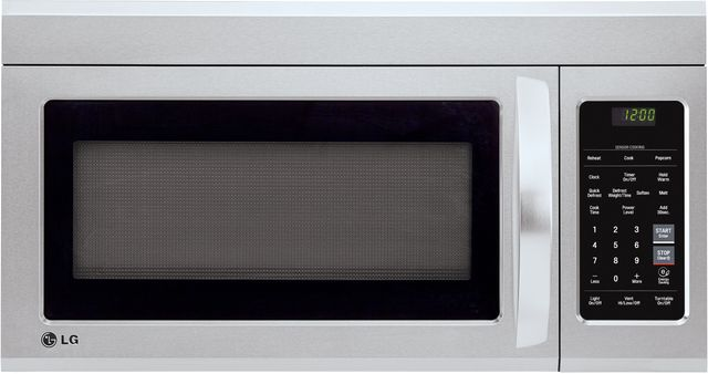 LG 1.8 Cu. Ft. Stainless Steel Over The Range Microwave Oven-LMV1831ST