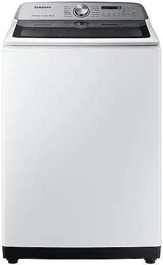 Samsung 5.0 Cu. Ft. White Top Load Washer-WA50R5400AW