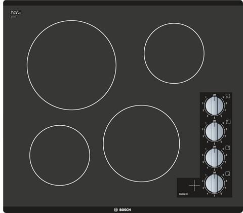"Bosch 500 Series 24"" Electric Cooktop-Black-NEM5466UC"