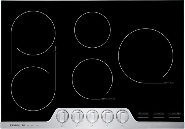 Frigidaire Professional® 30'' Stainless Steel Electric Cooktop-FPEC3077RF