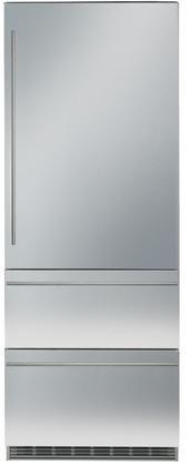 Liebherr 14.1 Cu. Ft. Stainless Steel Bottom Freezer Refrigerator-HCB-1560