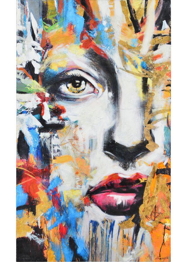 Toiles peintes Ara Renwil®-OL1675