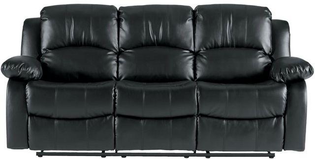 Cranley Double Reclining Sofa-9700BLK-3