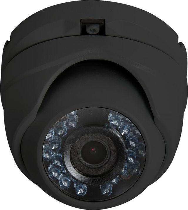 SnapAV Luma Surveillance™ 110 Series Black Turret Analog Camera-LUM-110-TUR-A-BL