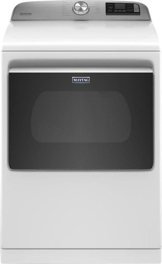 Maytag® 7.4 Cu. Ft. White Front Load Electric Dryer-MED7230HW