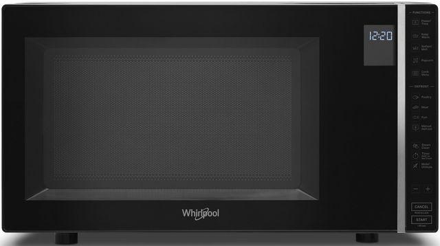 Whirlpool® 1.1 Cu. Ft. Black Countertop Microwave-WMC30311LB