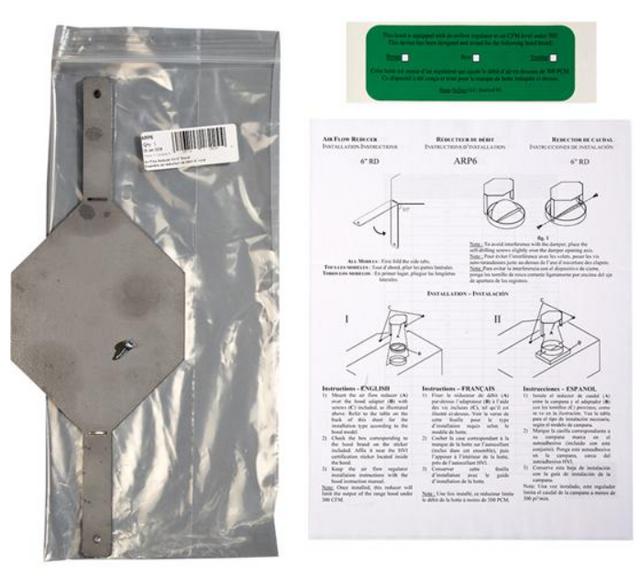 Kit de conduit de 6 po Broan®-ARP6