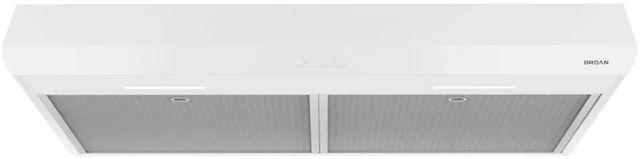 "Broan® Sahale BKDB1 Series 36"" Under Cabinet Range Hood-White-BKDB136WW"