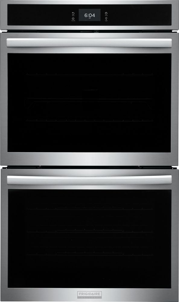 """Frigidaire Gallery 30"""" Smudge-Proof® Stainless Steel Double Electric Wall Oven-GCWD3067AF"""