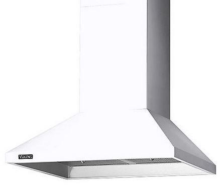 "Viking® 36"" Chimney Wall Hood-White-RVCH336WH"