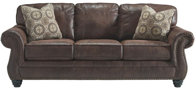 Canapé-lit Brevillie en tissu brun Benchcraft®-8000339