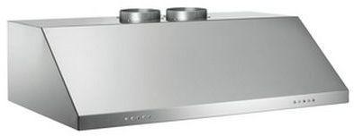 """Bertazzoni Professional Series 48"""" Pro Style Vent Hood-Stainless Steel-KU48PRO2X"""