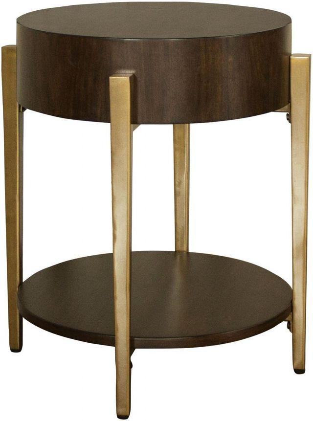 Riverside Furniture Dekker Round Side Table-43208