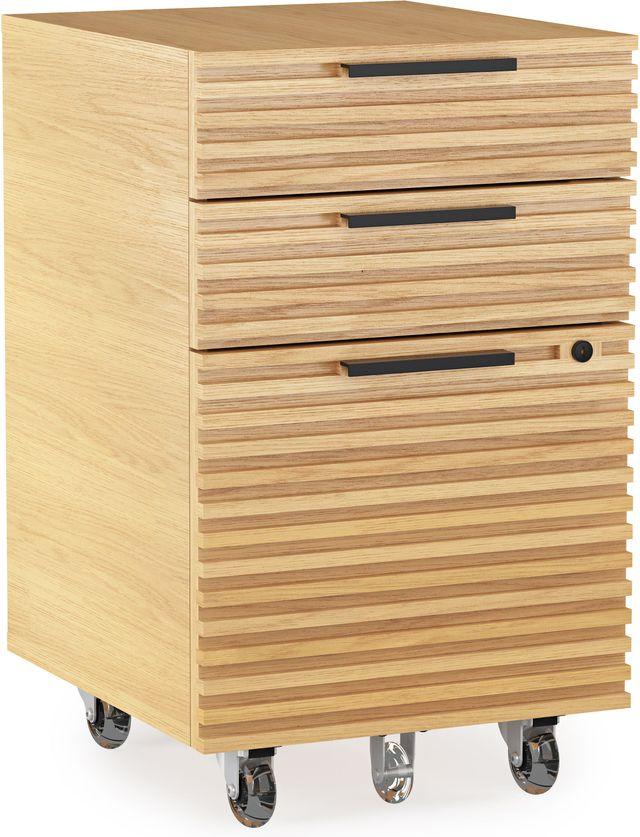 BDI Corridor™ 6507 Mobile File Pedestal-White Oak-6507-OAK