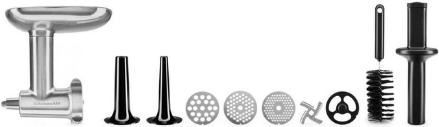 KitchenAid® Metal Food Grinder Stand Mixer Attachment-KSMMGA