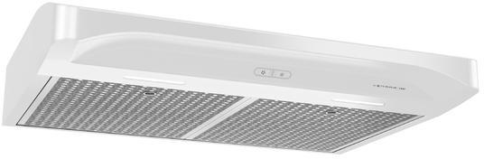 Hotte de cuisinière sous-armoire Venmar® de 30 po - Blanc-VCQDD130WW