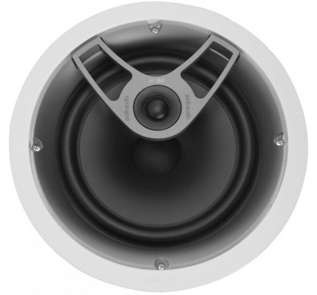 "Polk Audio® MC Series MC80 White 8"" In-Ceiling Speaker-AW0580"