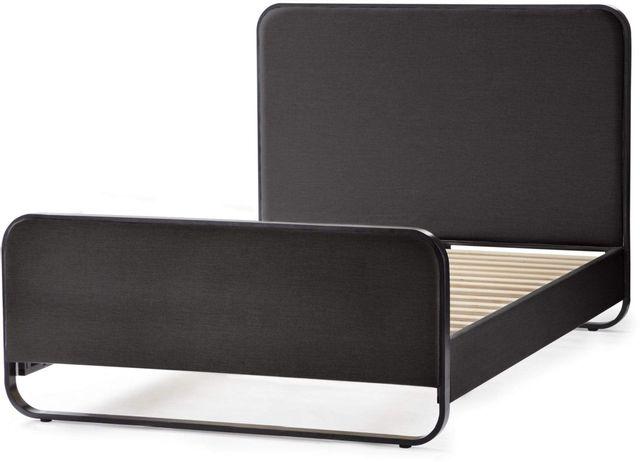 Malouf® Sleep Godfrey Designer Charcoal Queen Panel Bed-STQQCHGFRYUB