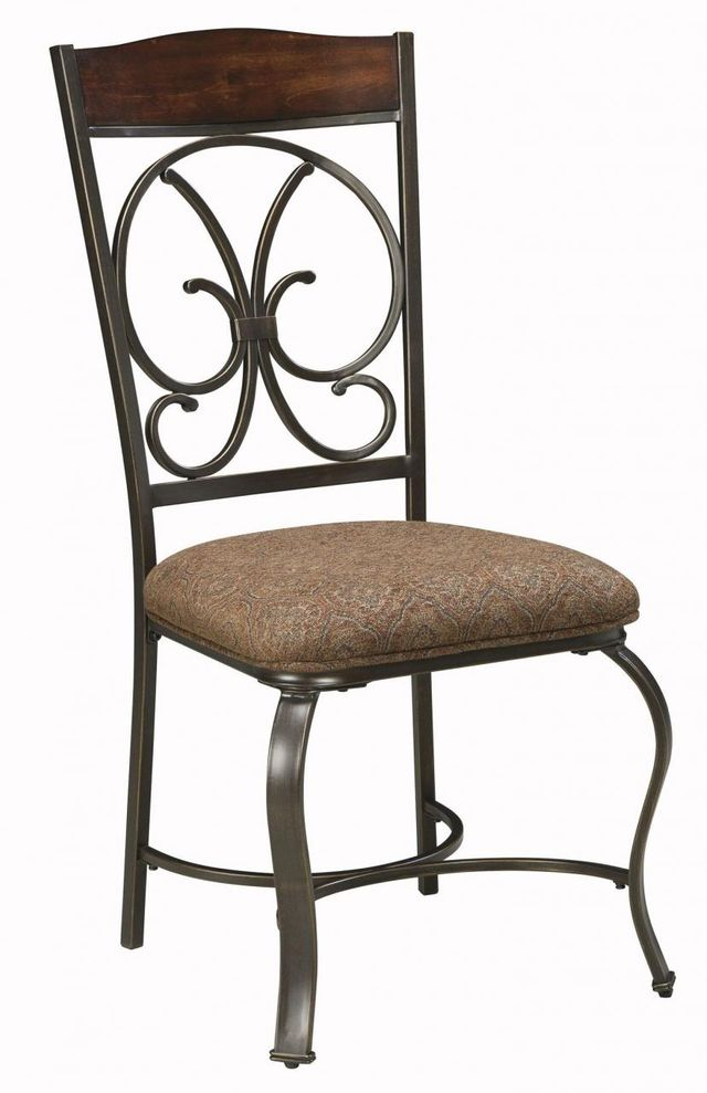 Signature Design by Ashley® Glambrey Brown Dining Upholstered Side Chair-D329-01