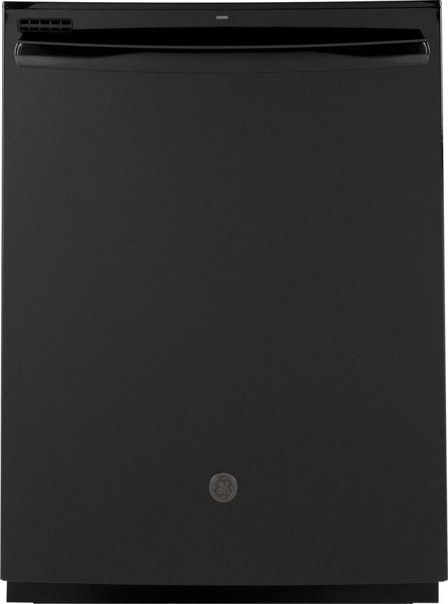 "GE® 24"" Black Built In Dishwasher-GDT530PGPBB"
