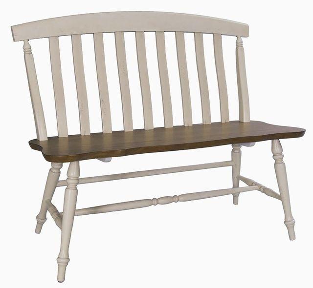 Liberty Furniture Al Fresco III Gray Bench-841-C9000B