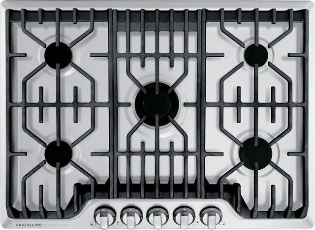 Frigidaire Professional® 30'' Stainless Steel Gas Cooktop-FPGC3077RS
