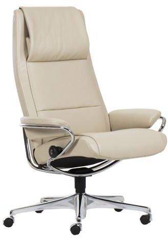 Stressless® by Ekornes® Paris High Back Star Base Office Chair-1338097
