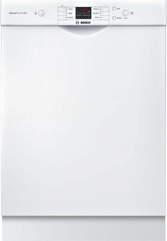 "Bosch 100 Series 24"" Built-in Dishwasher-SHEM3AY52N"