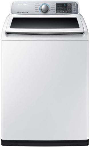 Samsung 5.0 Cu. Ft. Top Load Washer-White-WA50M7450AW