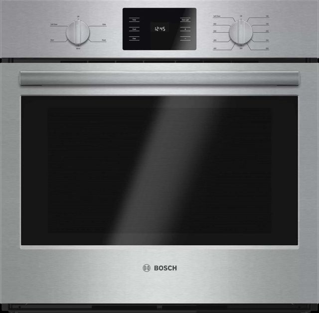 """Bosch 500 Series 30"""" Electric Single Oven Built In-Stainless Steel-HBL5351UC"""