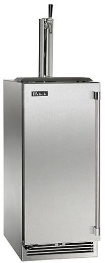 Perlick® Signature Series 2.8 Cu. Ft. Stainless Steel Beer Cooler/Kegerator-HP15TS-3-1L